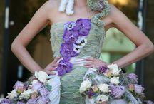 Blütenkleid / by Sabine Buckermann