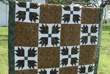 Quilts - Bear Paw & Maple Leaf