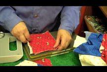 assemble hexie quilt
