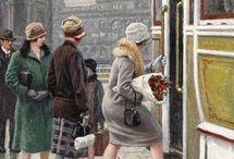 Art:Paul-Gustave Ficsher / Danish painter 1860-1934