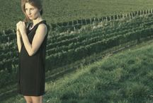 in a vineyard