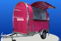 Nos remorques et solutions Food Truck ! / Vous souhaitez vous installer avec un #food #truck ? Voici nos solutions de remorques prêtes à l'emploi
