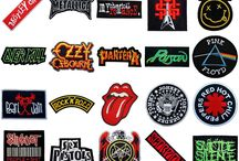 Patches and Buttons! / For best metalhead jacket!