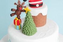 Weihnachten Torte