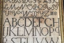 Samplers / Curated collection of cross-stitch and needlework samplers. #samplers #cross-stitch #embroideredsampler