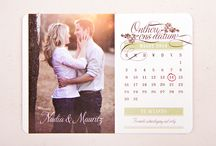 Wedding Save the Date invites