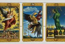 Weekly Tarot Readings / This is Weekly Tarot Readings from my blog and each includes the weekly Tarot card to study.
