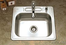 Houzer Stainless Steel Sinks / Wave Plumbing Stainless Steel Sinks