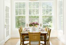 Dining Room / The places we gather to eat, by ourselves and with others, sometimes forgotten in the hustle of daily life. Here's a reminder that dining rooms can be beautiful.