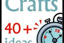 craft ideas / Many crafts sure u will find something u like / by Catherine L