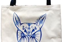Hand Crafts - 2 / Hand crafts - tote bags, scarves, aprons etc.