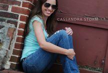 Senior Portraits / Senior portrait photography available at www.CassandraStorm.com