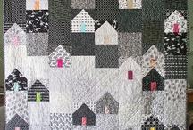 domečky / patchwork aqplikace