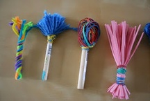 Home Made Children's Art Materials & Tools
