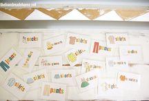 Organiser les vêtements pour enfants