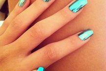 ongles métalliques