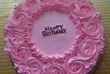 tortas decoradas con Chantilly