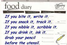 food diaries