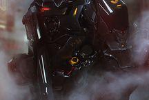 Robots/Cyborgs / Hardsurface character design