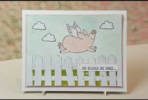 Stampin' Up! This Little Piggy Stamps