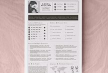 Selling yourself / Beautiful graphic designers resumes