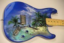 guitare gothique