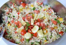 Koude salades