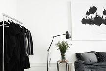 Black&white bedroom