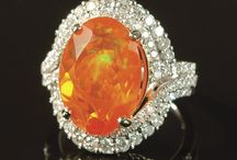 Opal, Fire / Fire Opal Rings & Jewelry