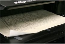 using printer for patterns