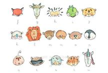 cute animal faces