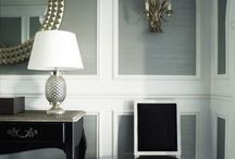 Living room molding ideas