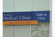 Primacy Clinics - Ontario / There are over 40 Primacy Clinics located in Ontario that are there to serve your walk in medical issue!  www.primacyclinics.ca/locations/