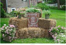 Hay wedding ideas