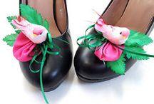 Schuhschmuck Pimp up your Pumps / Diese Teile machen die Schuhe viel schöner!