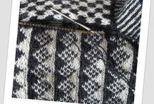 Tablet weaving, knitting, crocheting...