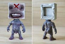 Art Toys by Emilio Subira / indie art-toy sculptures from the deep of the nonsense. hand made All of them are original characters by Emilio subirá. You can get yours here:  http://emiliosubira.storenvy.com