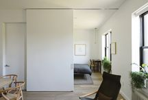 Sliding walls doors