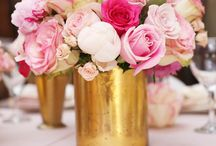 Flowers, Flower Arrangements, and Flower Centerpieces / baby shower flowers, floral centerpieces,
