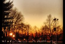Hofstra Sunsets / Photos of sunsets at Hofstra University