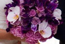 lavander purple wedding