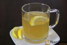 Mézes citromos viz