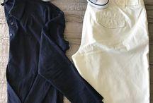 Jen's Closet, Navy and Whites