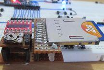 Datalogger / Sıcaklık ölçer datalogger panosu