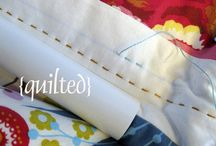 Quilting ~ tips