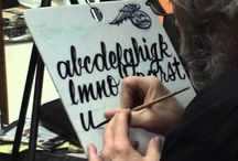Sign painting & pinstriping
