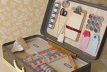 Vintage Sewing Boxes / Still have your old sewing box? Take a look at some of these beauties.