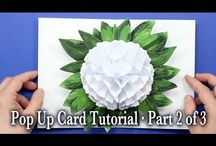 paper flower pop