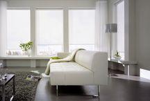 Cortinas clean para decor sofisticada / De visual clean e elegante as cortinas rolô da Luxaflex são perfeitas para compor a decoração de ambientes sofisticados. Confira as opções e funcionalidades desse modelo de cortina http://bit.ly/1pfH8Hb