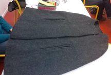 Réalisations des élèves / chaque participant aux cours du pôle couture réalise ses propres vêtements, vous trouverez ici un aperçu.